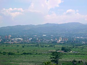 The Valle del Turbio, which separates the cities of Barquisimeto and Cabudare, in Venezuela. Image by JesusElGuaro via Wikimedia.