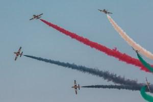 Dubai Air Show by Alexander Babashov via Flickr.