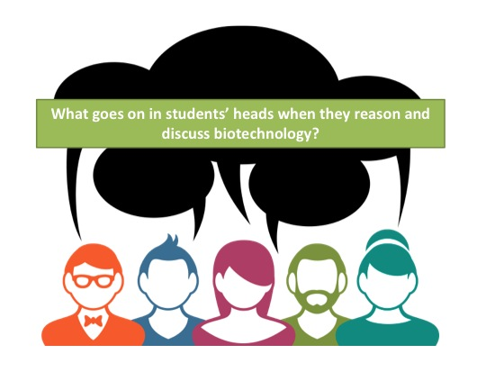 What biotechnology issues resonate with students?