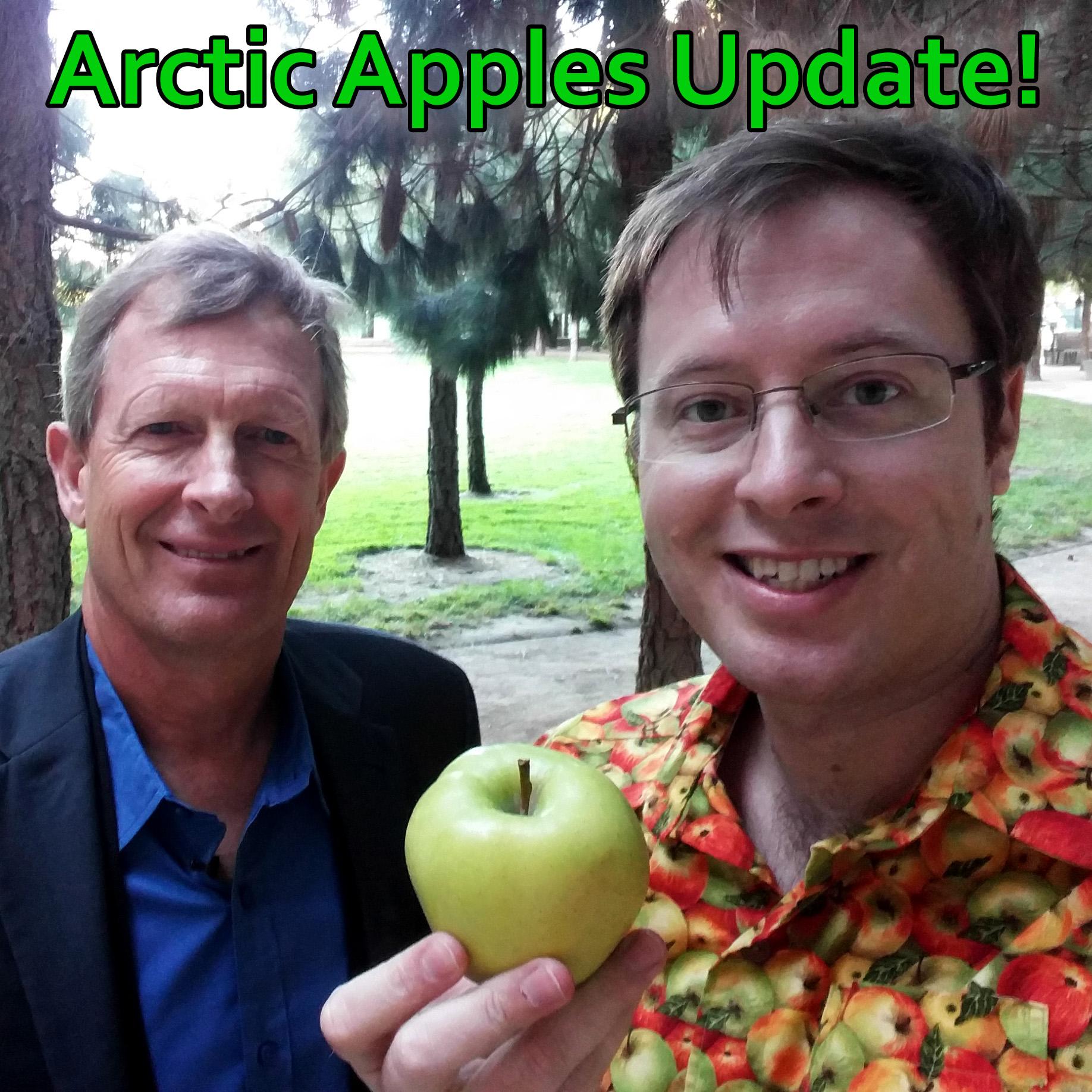 Arctic Apples Update at SynBioBeta