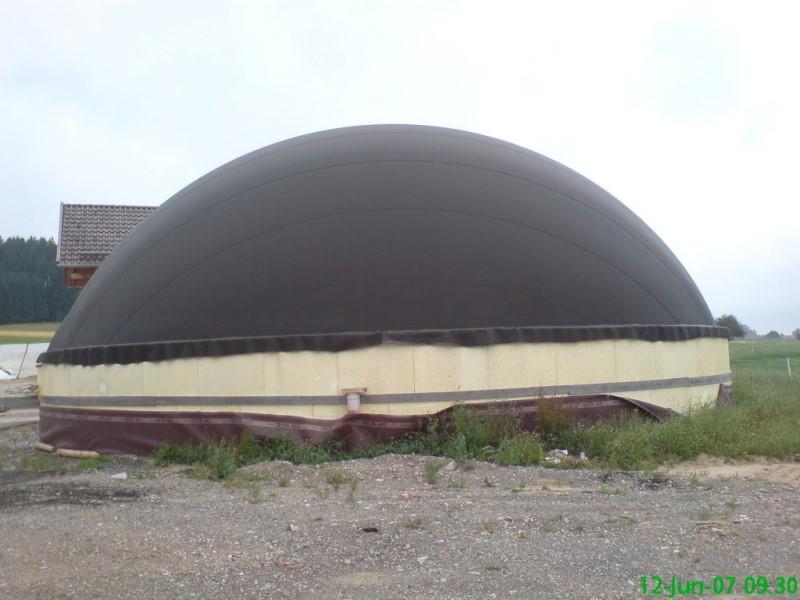 Zdjęcie dachu do biogazowni, kopuła
