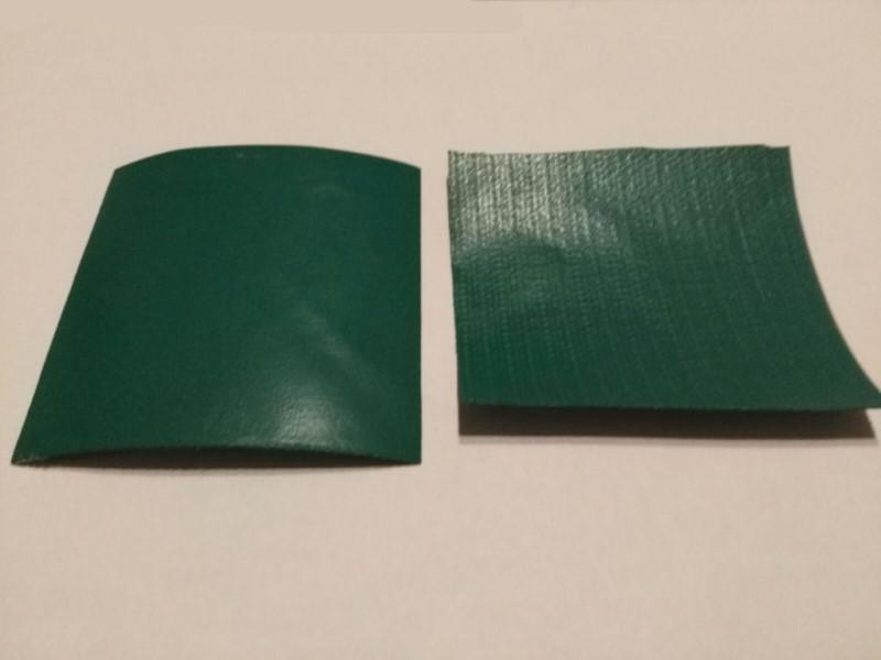Zdjęcie fragmentu folii PVC