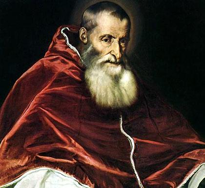 Resultado de imagen para Fotos de papa Paulo III