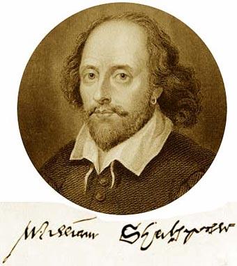 Resultado de imagen para Fotos de William Shakespeare