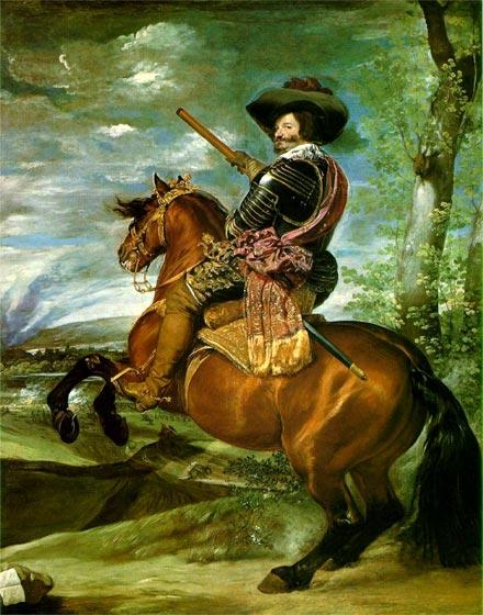 Conde-duque de Ollivares, pintado por Velázquez.