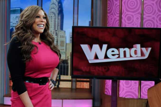 """Wendy Williams hosting """"The Wendy Williams Show"""" on January 12, 2012, in New York City"""