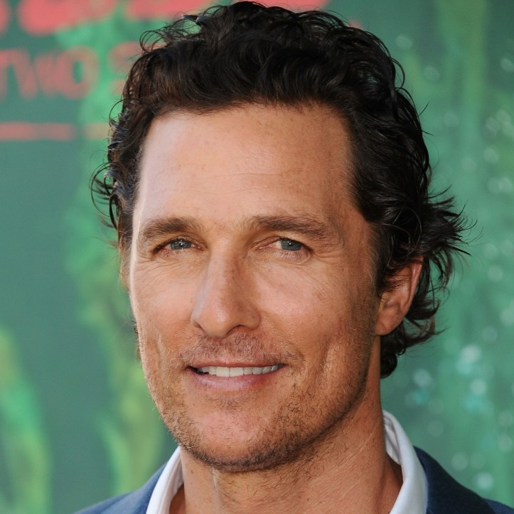 Matthew McConaughey photo via Getty Images