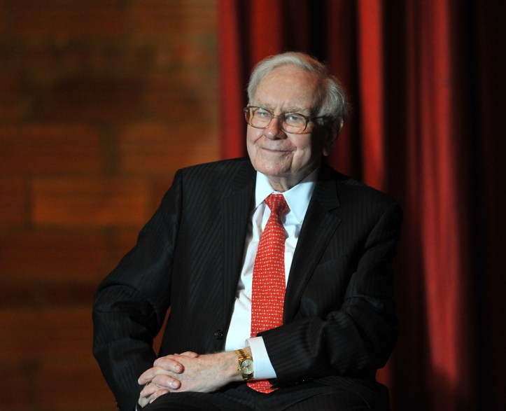 Warren Buffet Photo by Steve Pope/Getty Images