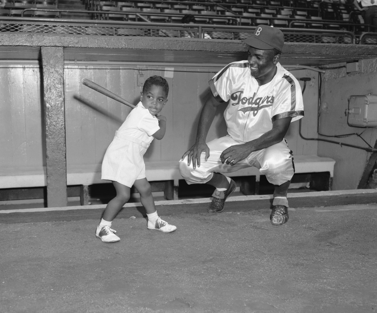 Jackie Robinson Family Album 9 Photos Of The Baseball