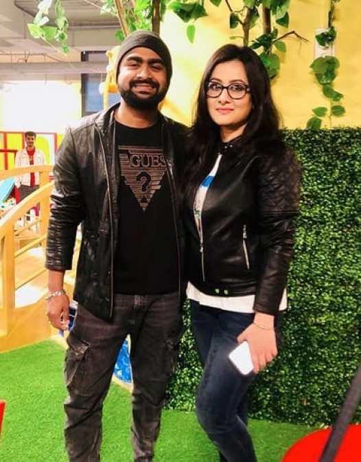 Imran Mahmudul With Purnima