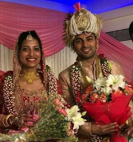 Amrapali Kata and Husband