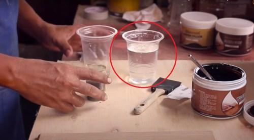 air yang bisa digunakan untuk pencampuran cat water based