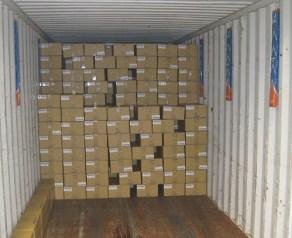 contoh aplikasi container desiccant pole atau penyerap kelembaban kontainer