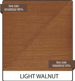 biovarnish wood stain warna light walnut