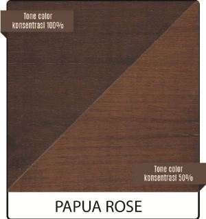 biovarnish wood stain warna papua rose
