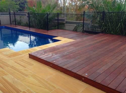 kayu merbau untuk decking outdoor
