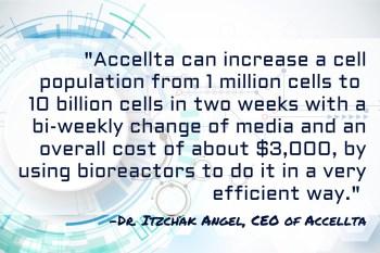 Accellta - Mass Production of Clinical-Grade Stem Cells