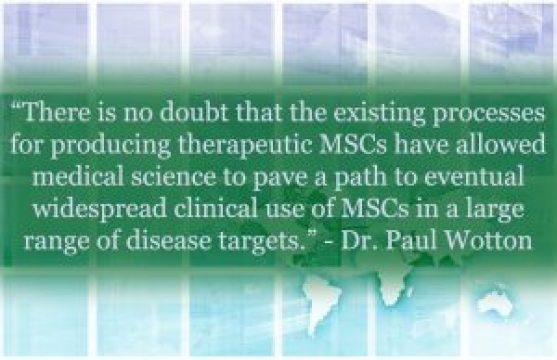 Commercialization of Cymerus iPSC-Derived MSCs - Dr. Paul Wotton