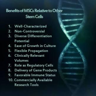 Benefits of MSCs