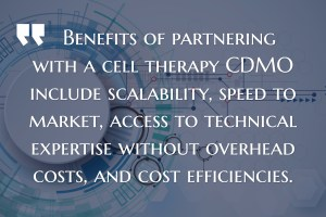 Cell Therapy CDMOs