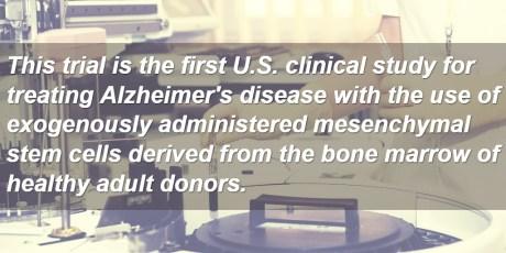 Longeveron Begins Phase 1 Alzheimer's Trial