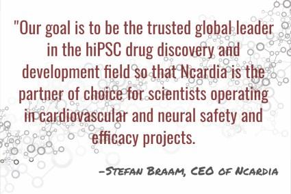 Stefan Braam, CEO of Ncardia