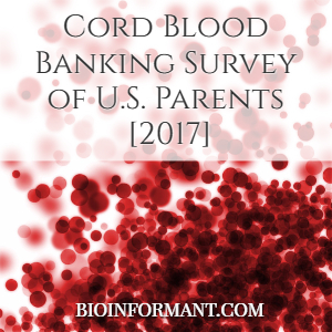 Cord Blood Banking Survey of U.S. Parents [2017]