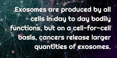 Cancer Exosome Quantities