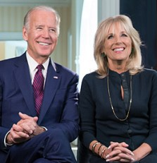 Vice President Joe Biden and Dr. Jill Biden