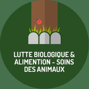 Lutte biologique & alimentation - soins des animaux