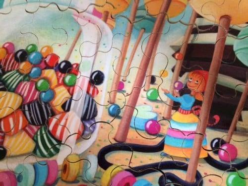 Puzzles personnalisés un joli cadeau pour les enfants
