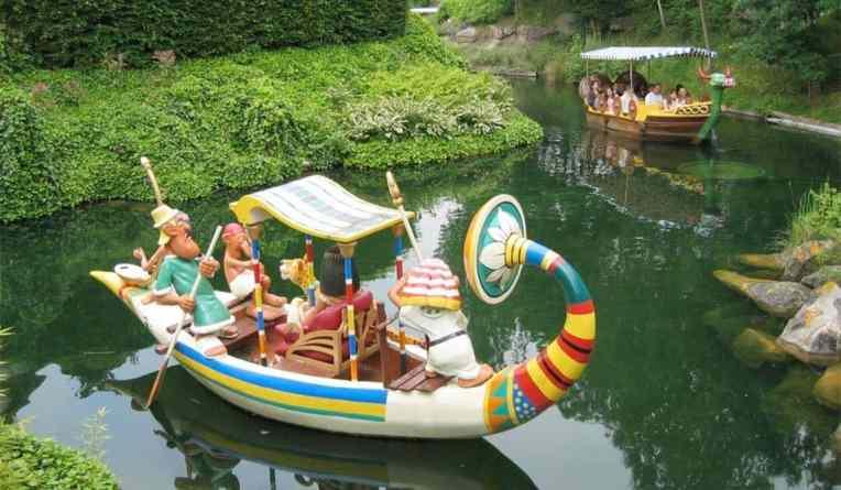 Les attractions pour les enfants  Parc-Asterix