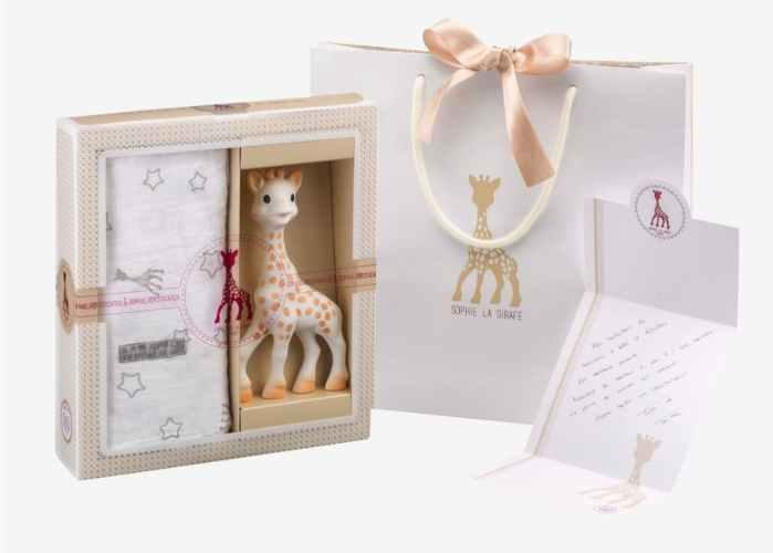 Sophie la Girafe, le jouet des tout-petits depuis toujours