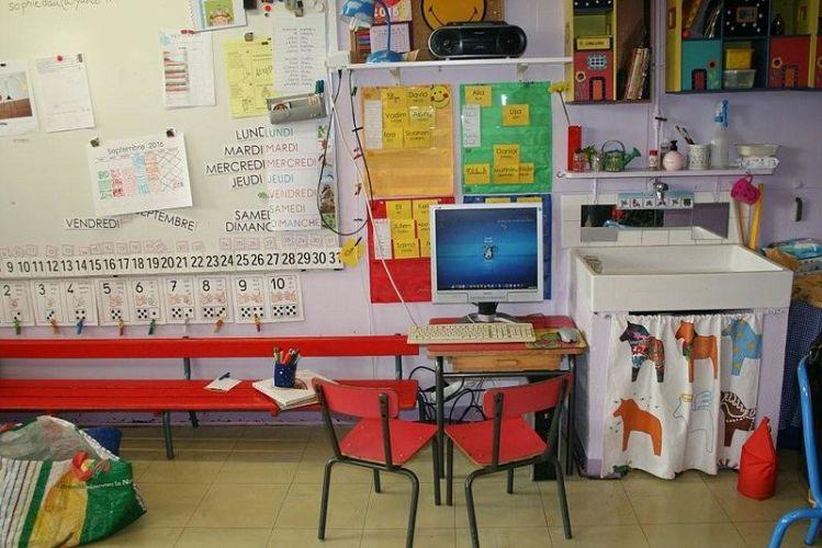 école maternelle à la maison