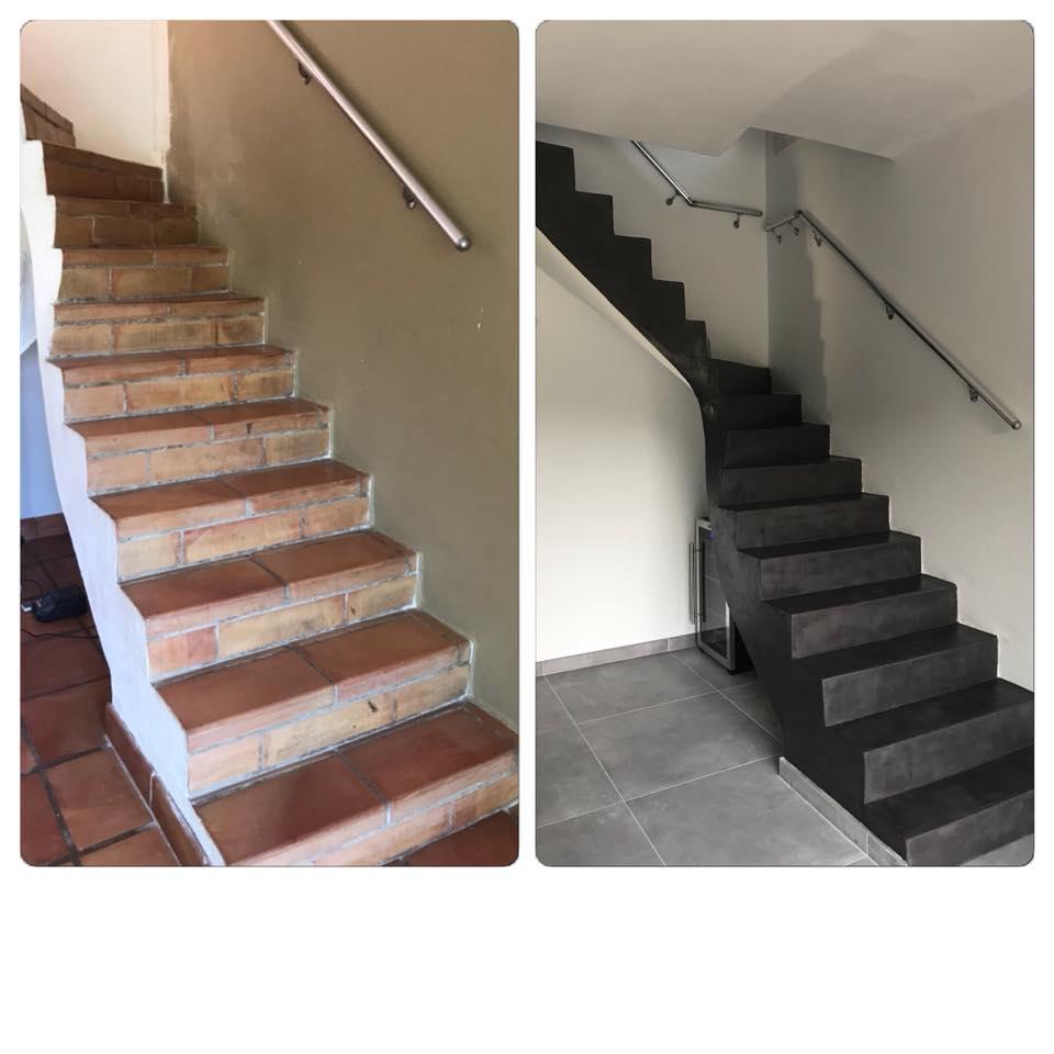 Comment Realiser Un Escalier En Beton Cire Facilement Nos Conseils