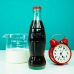 Πείραμα γάλακτος με κόκα κόλα