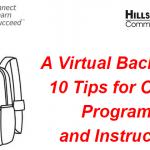 """Top Ten Tips for Effective Teaching Online"": Υλικό από webinar, σύνδεσμοι και έγγραφα"