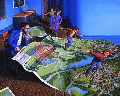 "Rob Gonsalves, ""Flight Plan"""