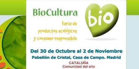 Feria BioCultura en Madrid