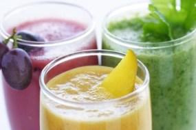 Frutas y zumos nutritivos