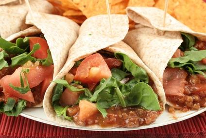 Auténticas Recetas Mexicanas de tacos vegetarianos