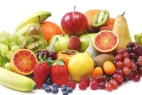 Frutas con calcio