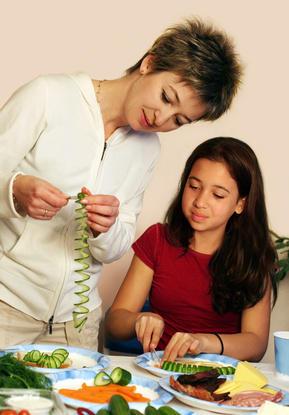Hábitos alimenticios de los hogares con adolescentes