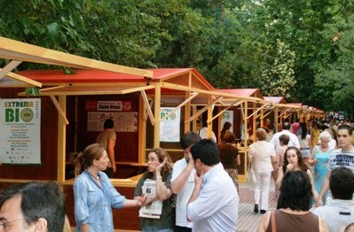 Se celebró la l° Feria de productos ecológicos de Extremadura