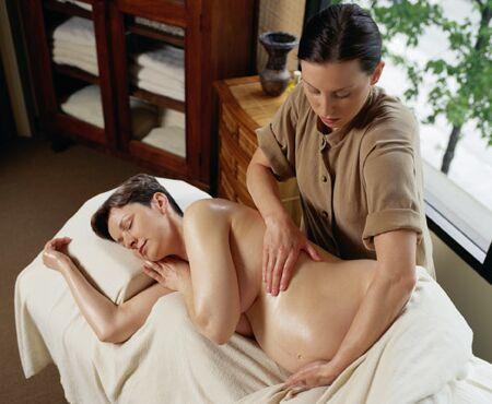 Masaje Shiatsu para Embarazadas