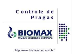 Apresentação sobre Controle de Pragas BIOMAX