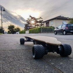 Le skateboard électrique écologique