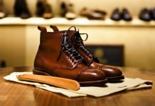 semir sepatu kulit biopolish leather care
