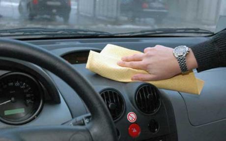 polish dashboard mobil biopolish leather care