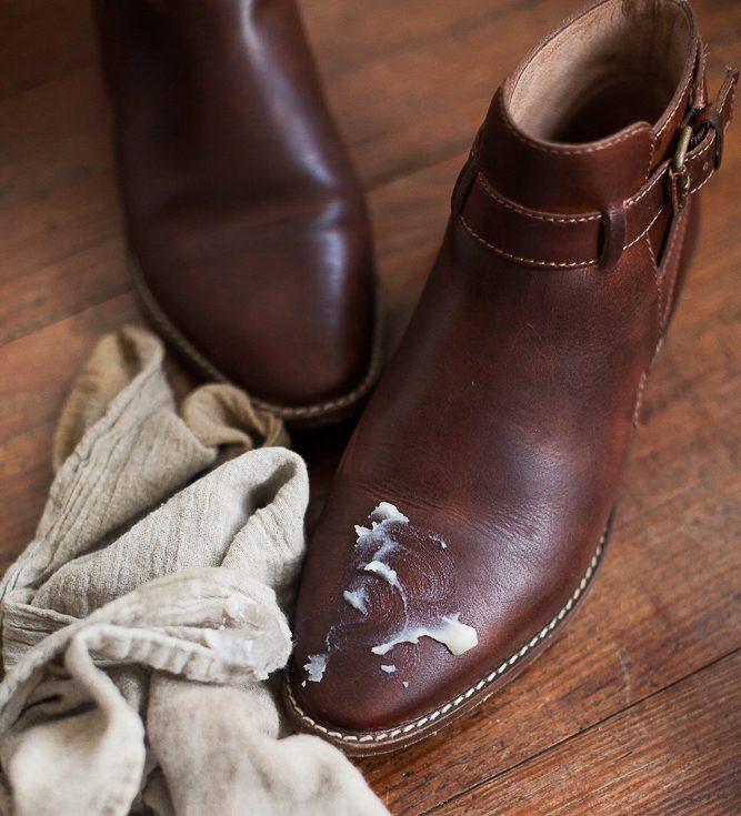 leather care untuk sepatu